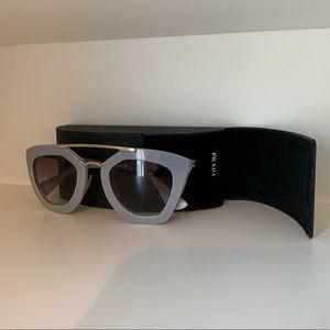 Prada Sunglasses Light Gray
